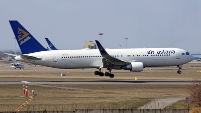 A picture of P4KEA - Boeing 7673KY(ER) - Air Astana - © Frolov Sergey