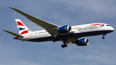 G-ZBJF - Boeing 787-8 Dreamliner - British Airways