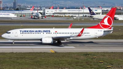 TC-JGU - Boeing 737-8F2 - Turkish Airlines