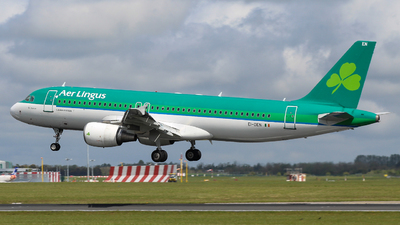 A picture of EIDEN - Airbus A320214 - Aer Lingus - © Pj Mackey