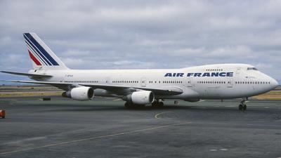 F-BPVX - Boeing 747-228B(M) - Air France