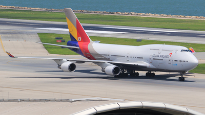 HL7421 - Boeing 747-48E(M) - Asiana Airlines