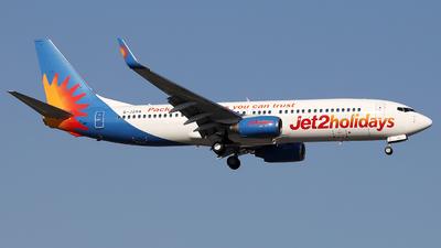 A picture of GJZHA - Boeing 7378K5 - Jet2 - © Firat Cimenli