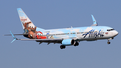 N570AS - Boeing 737-890 - Alaska Airlines
