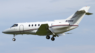 N1910A - Raytheon Hawker 800XP - Private