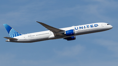 A picture of N13013 - Boeing 78710 Dreamliner - United Airlines - © TJDarmstadt