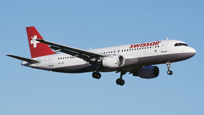 HB-IJE - Airbus A320-214 - Swissair
