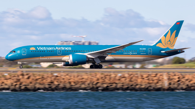 A picture of VNA864 - Boeing 7879 Dreamliner - Vietnam Airlines - © Mark B Imagery