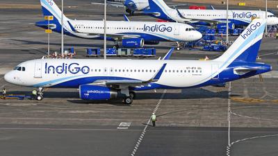 A picture of VTIFV - Airbus A320232 - IndiGo - © Janam Parikh