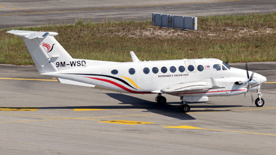 9M-WSD - Beechcraft B300 King Air 350i - Hornbill Skyways