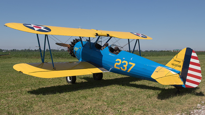 N5254B - Boeing A75N1 Stearman - Private