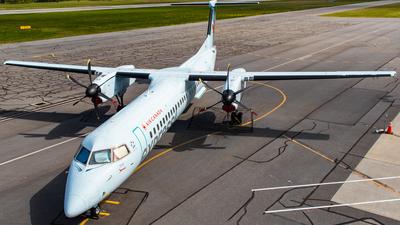 A picture of CGVJZ - De Havilland Canada Dash 8400 - Air Canada - © CJMAviation