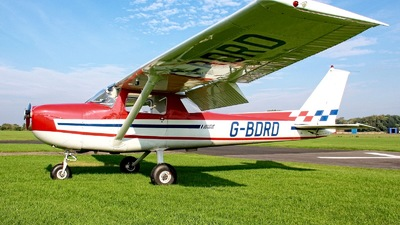 A picture of GBDRD - Cessna FRA150M Aerobat - [0289] - © Jez-UK