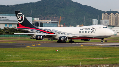 B-2423 - Boeing 747-4EVERF - SF Airlines