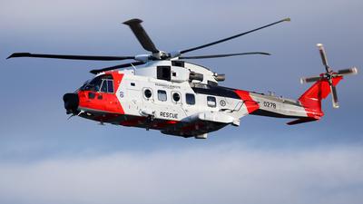 0278  - Agusta-Westland AW-101 - Norway - Air Force