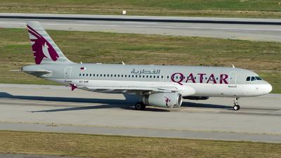 A7-AHF - Airbus A320-232 - Qatar Airways