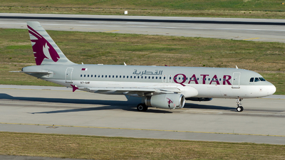 A picture of A7AHF - Airbus A320232 - Qatar Airways - © Alp AKBOSTANCI