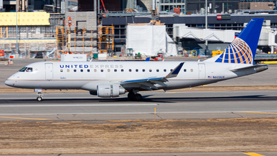 A picture of N603UX - Embraer E175LL - United Airlines - © Nicholas Ambrosecchia
