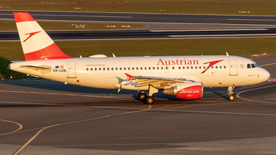 A picture of OELDB - Airbus A319112 - Austrian Airlines - © Sotos