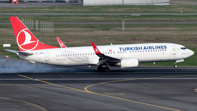 A picture of TCJHO - Boeing 7378F2 - Turkish Airlines - © DN280