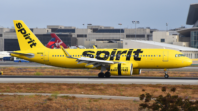 A picture of N901NK - Airbus A320271N - Spirit Airlines - © Rocky Wang