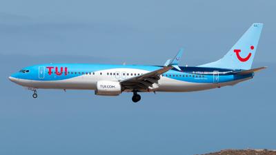 A picture of DATUJ - Boeing 7378K5 - TUI fly - © Pablo Gonzalez de Leon