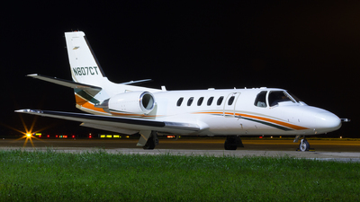 N807CT - Cessna 550B Citation Bravo - Private