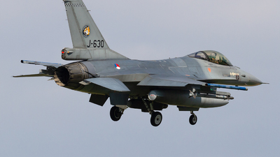 J-630 - General Dynamics F-16AM Fighting Falcon - Netherlands - Royal Air Force