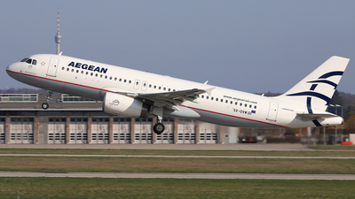 A picture of SXDVW - Airbus A320232 - Aegean Airlines - © Frank Specker