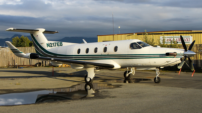 A picture of N217EB - Pilatus PC12/45 - [154] - © C. v. Grinsven