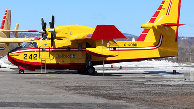 A picture of CGQBD - Canadair CL415 SuperScooper -  - © Guy Langlois