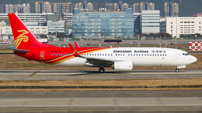 A picture of B5670 - Boeing 73787L - Shenzhen Airlines - © libohang