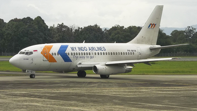PK-MYR - Boeing 737-2K2C(Adv) - My Indo Airlines