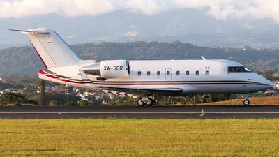 XA-SOR - Bombardier CL-600-2B16 Challenger 601-3R - Aeropycsa
