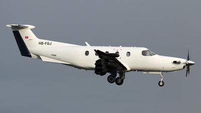 A picture of HBFQJ - Pilatus PC12/47E -  - © Ian Howat