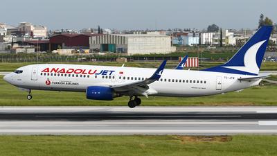 TC-JFM - Boeing 737-8F2 - AnadoluJet