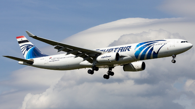 SU-GDT - Airbus A330-343 - EgyptAir