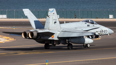 C.15-77 - McDonnell Douglas F/A-18A+ Hornet - Spain - Air Force