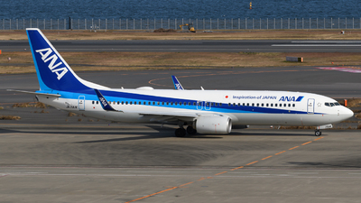 A picture of JA71AN - Boeing 737881 - All Nippon Airways - © Yoshio Yamagishi