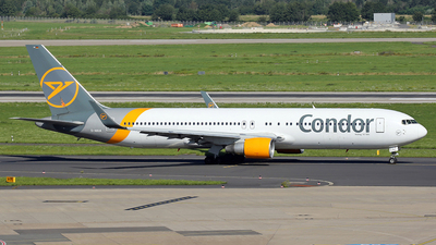 A picture of DABUA - Boeing 767330(ER) - Condor - © wim callaert