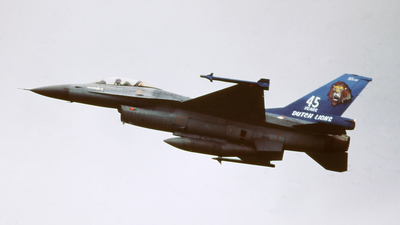 J-234 - General Dynamics F-16A Fighting Falcon - Netherlands - Royal Air Force