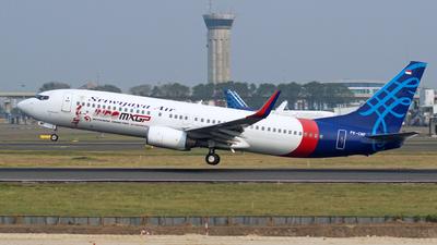PK-CMF - Boeing 737-86Q - Sriwijaya Air
