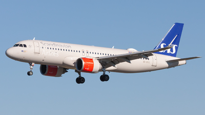 A picture of SEDYC - Airbus A320251N - SAS - © Sebastian E Burmo