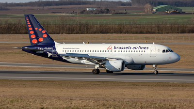 A picture of OOSSB - Airbus A319111 - Brussels Airlines - © Hanjo Schrenk