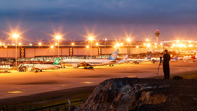 ZGGG - Airport - Spotting Location