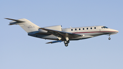 N93LA - Cessna 750 Citation X - Private