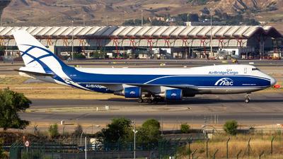 VQ-BWW - Boeing 747-406ERF - Air Bridge Cargo