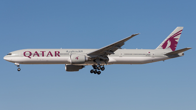 A7-BAJ - Boeing 777-3DZER - Qatar Airways