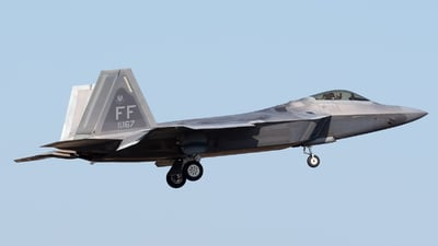08-4167 - Lockheed Martin F-22A Raptor - United States - US Air Force (USAF)