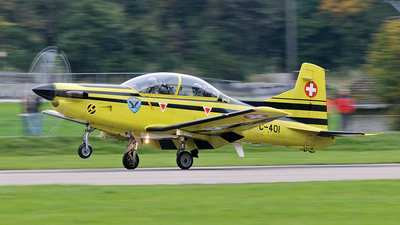 C-401 - Pilatus PC-9 - Switzerland - Air Force